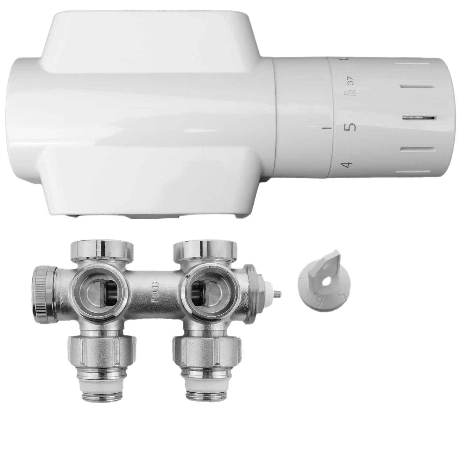 Buderus Logafix Design Ventilarmaturenset Universalarmatur