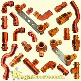 Press-Fitting-System für Kupferrohr (von Viega Profipress)