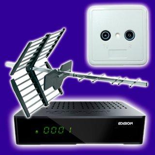 Receiver Kabel und DVB-T
