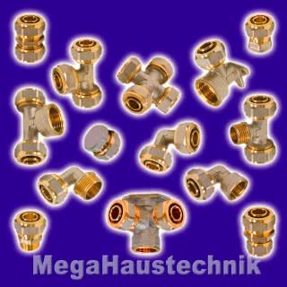Schraub-Fitting-System Verbundrohr