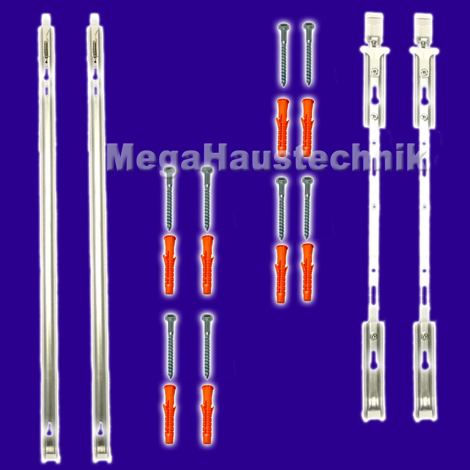 universalschienen für heizkÖrper befestigung wandhalterung 300-900mm