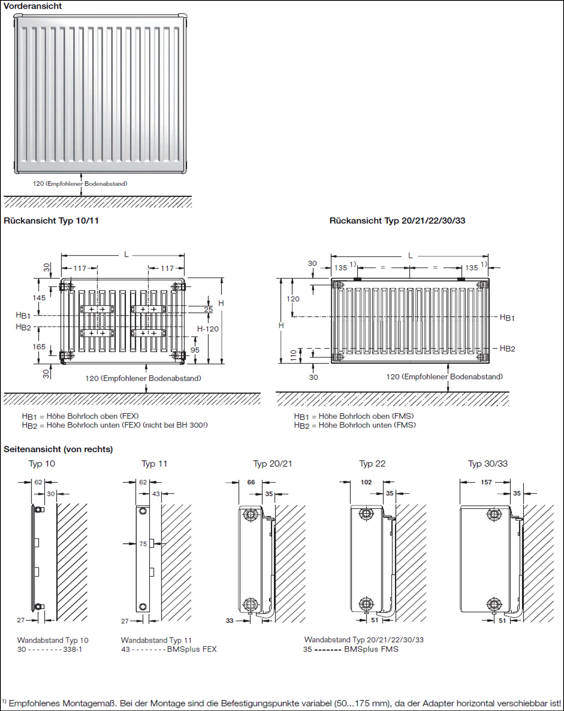 kompakt heizk rper buderus logatrend h he 600 l nge 400. Black Bedroom Furniture Sets. Home Design Ideas