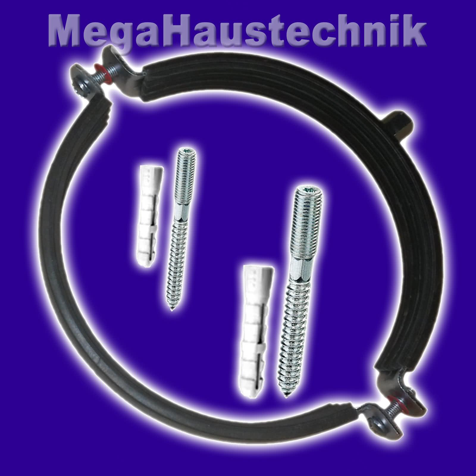 Rohrschellen mit Mengenrabatt 10-168 mm Schraubrohrschellen Gelenkrohrschellen