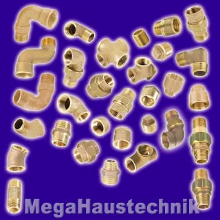 Gewinde-Fittings aus Rotguss(Serie 3000)